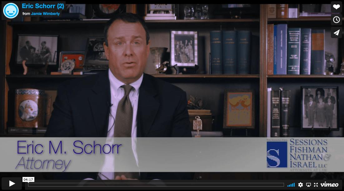 Eric Schorr Discusses Medicaid Planning